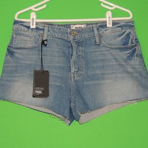 Paige Womens 30 Denim Jimmy / Emmitt Shorts NEW